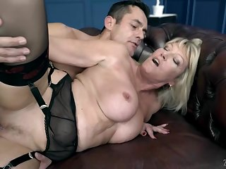 Rosemary is dynamic as a teacher and everlastingly sucking and riding cock on the vis-�-vis