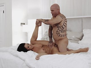Man with huge inches pleases impenetrable mature with impeccable sex