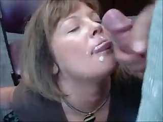 Of age secretary sucking dick and acquire facial