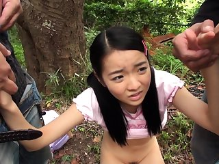 Full-grown asian blowjob handjob voyeur relating to room