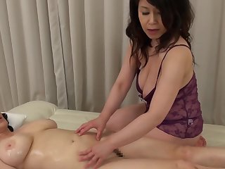 Two Asian matures drop their clothes to essay a kinky lesbian sex
