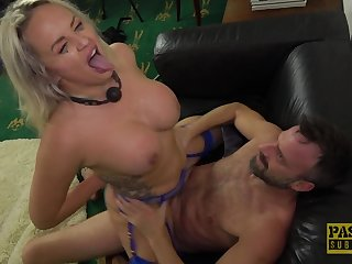 Gagged MILF gets roughly fucked and made wide swallow as often as not