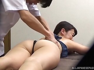 Massage leads to passionate coitus with a Japanese amateur. HD