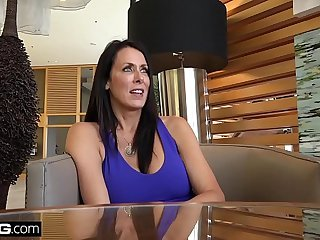 BANG Real MILFS - Reagan Foxx gets an ultimate birthday fuck