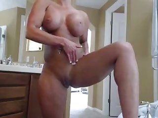 Fabulous busty MILFie wife and her fantastic big bubble boobies