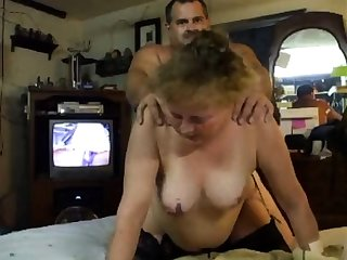 Petite mature housewife doggystyle fucked